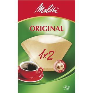 Melitta Original 1x2 Coffee Filter 40st