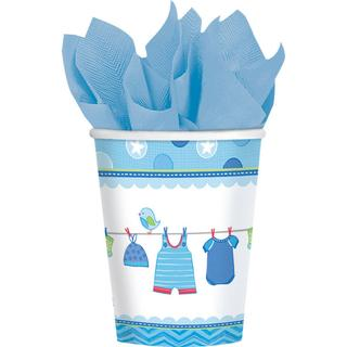Amscan Paper Cup Shower With Love Boy 8-pack