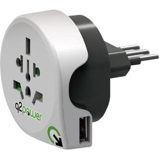 q2power World to Italy With Usb
