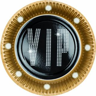 Partyrama VIP Theme Paper Plate 6-pack