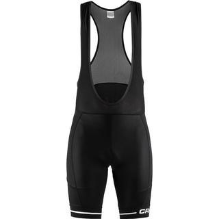 Craft Rise Bib Shorts Men - Black/White