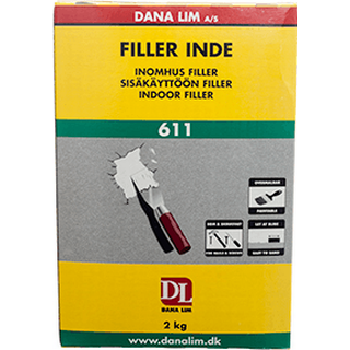 Danalim Filler Indoor 611 White 2kg