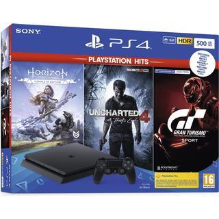 Sony PlayStation 4 Slim 500GB - Game Hits Bundle
