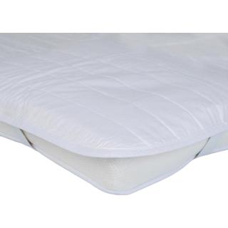 Mille Notti Quilt Madrasskåner Hvid (210x180cm)