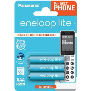 Panasonic Eneloop Lite AAA 3-pack