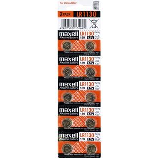 Maxell LR1130 Alkaline Compatible 10-pack