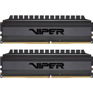 Patriot Viper 4 Blackout Series DDR4 3200MHz 2x4GB (PVB48G320C6K)