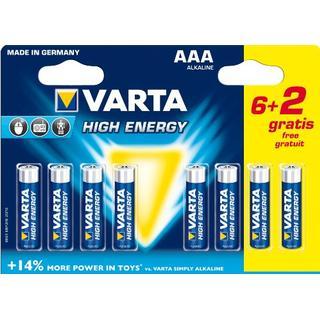Varta High Energy AAA 8-pack