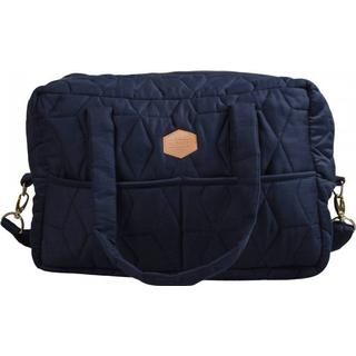 Filibabba Pusletaske Soft Quilt Dark Blue