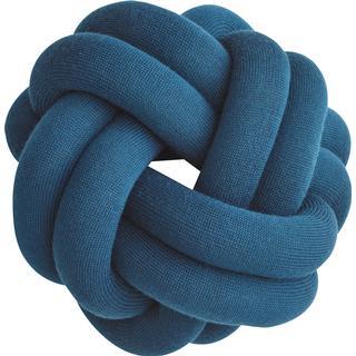 Design House Stockholm Knot Pyntepuder Blå (15x30cm)
