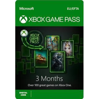 Microsoft Xbox Game Pass - 3 Months