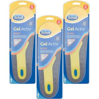 Scholl GelActiv Work Insoles Men 3-pack