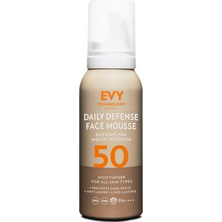 EVY Daily Defence Face Mousse SPF50 PA++++ 75ml