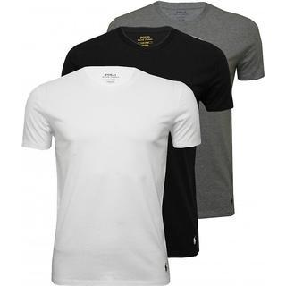 Polo Ralph Lauren Cotton Crewneck T-shirt 3-pack - Multi