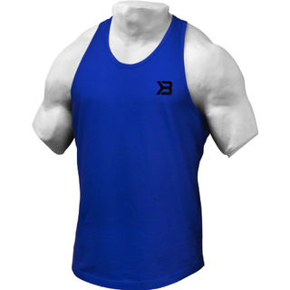 Better Bodies Essential T-Back Men - Str. Blue