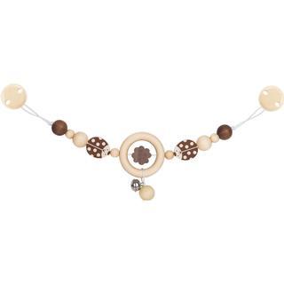 Heimess Pram Chain Ladybird with Clips