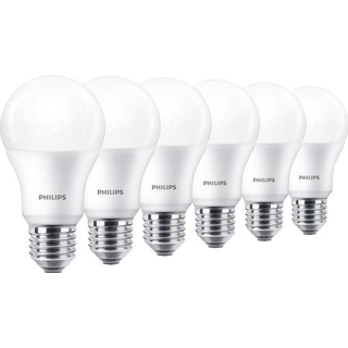 Philips 10.5cm LED Lamp 9W E27 6-pack