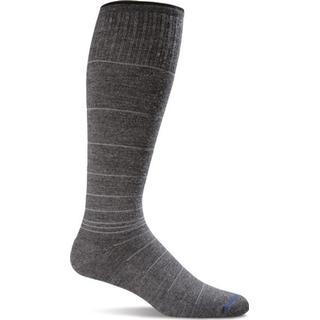 Sockwell Circulator Men - Charcoal Stripe