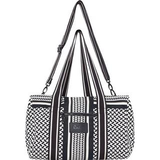 Lala Berlin Muriel Big Bag - Kuffiya Off-White/Black