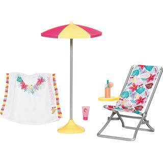 Zapf Baby Born Holiday Deckchair Set 43cm