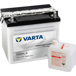 Varta Powersports Freshpack 12N24-4