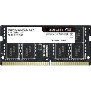 Team Group Elite SO-DIMM DDR4 3200MHz 8GB (TED48G3200C22-S01)