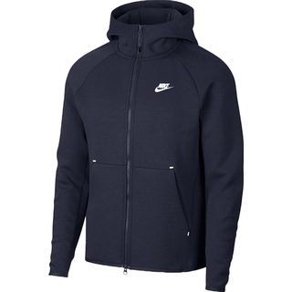 Nike Tech Fleece Full Zip Hoodie Men - Obsidian Blue