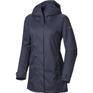 Columbia Splash and Little Rain Jacket Women - Dark Blue