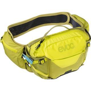 Evoc Hip Pack Pro 3L Running Belt - Sulphur/Moss Green