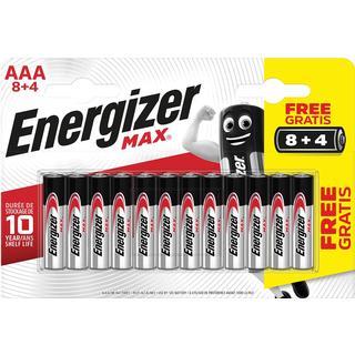 Energizer AAA Max Alkaline 12-pack
