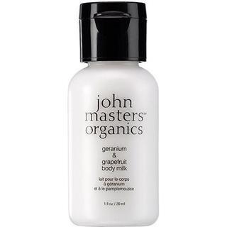 John Masters Organics Body Milk Geranium & Grapefruit 30ml