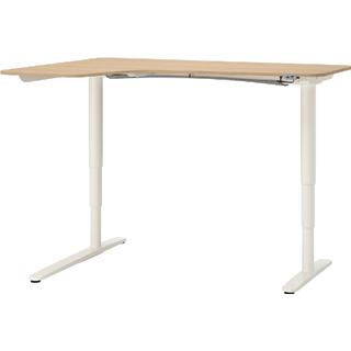Ikea Bekant Left 125cm Skrivebord