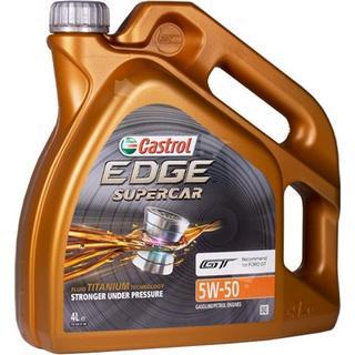Castrol Edge Fluid Titanium Supercar 5W-50 4L Motorolie