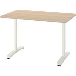 Ikea Bekant Oak 120x80cm Skrivebord