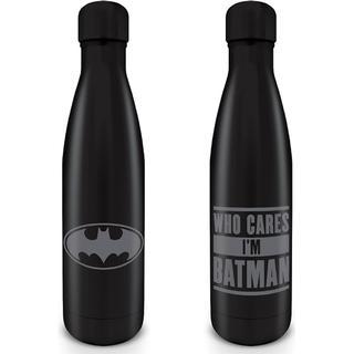 Pyramid International Batman Who Cares I'm Batman Metal Vandflaske 0.54 L