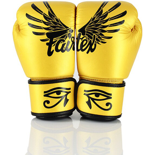 Fairtex® Gold Falcon Limited Edition Boxing Gloves 10oz