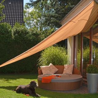 HI Sunshade Sail Triangular 500x500x500cm