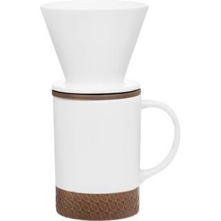 Maku Ceramic Coffee Dripper and Cup 0.4L