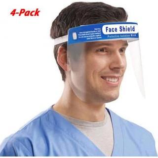 Face Shield Visor 4-pack