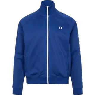 Fred Perry Taped Track Jacket Men - Nautical Blue