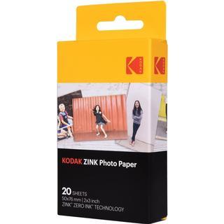 Kodak Zinc Photo Paper 50x76mm 20pcs