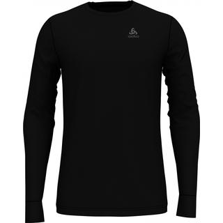 Odlo Natural Merino Warm Long-Sleeve Baselayer Top Men - Black