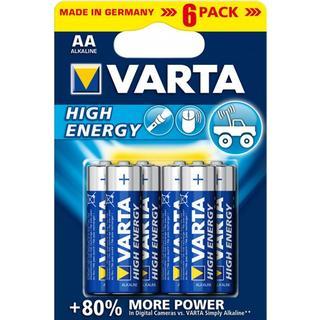 Varta High Energy AA 6-pack