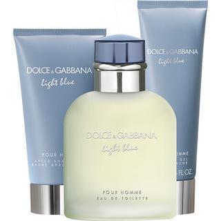 Dolce & Gabbana Light Blue Pour Homme Gift Set EdT 125ml + After Shave Balm 75ml +Shower Gel 50ml