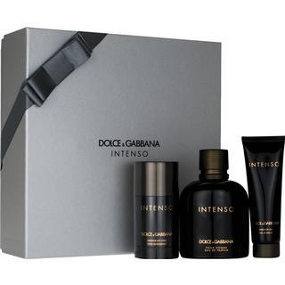 Dolce & Gabbana Intenso Pour Homme Gift Set EdP 125ml + Deo Stick 70g + Shower Gel 125ml
