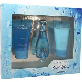 Davidoff Cool Water for Her Gift Set EdT 30ml + Shower Gel 50ml+ Body Lotion 50ml