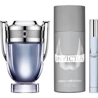 Paco Rabanne Invictus Gift Set EdT 100ml + EdT 10ml + Deo Spray 150ml