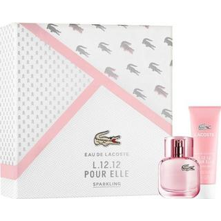 Lacoste Eau de Lacoste L.12.12 Pour Elle Sparkling Gift Set EdT 90ml + Shower Gel 150ml