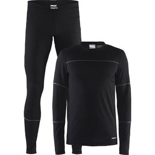 Craft Baselayer Set Men - Black