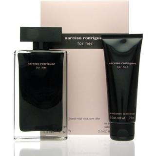 Narciso Rodriguez For Her Gift Set EdT 100ml + Body Lotion 75ml